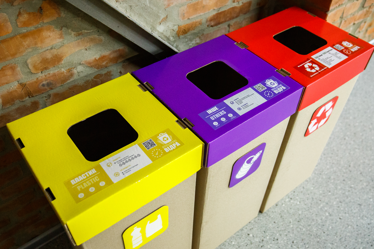 Vilmate office recycling program