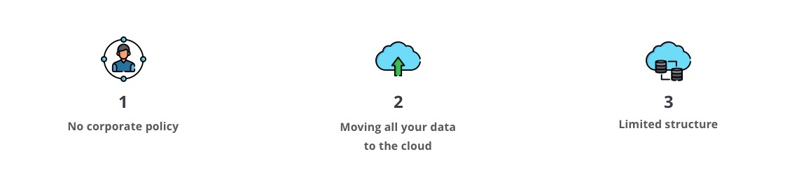 Cloud data management mistakes to avoid