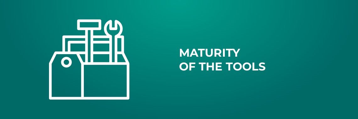 Advantages of native apps - Maturity of the tools