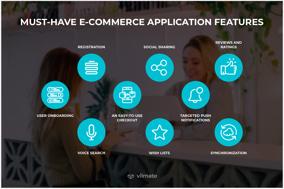 Must-have features to build an eCommerce app