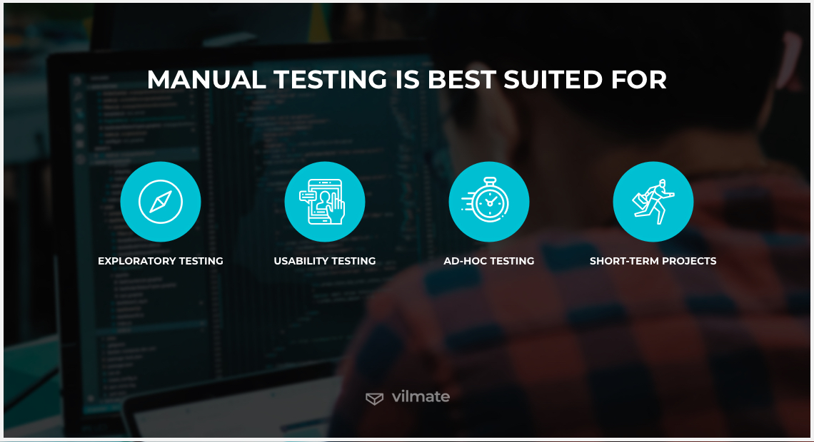 Manual testing best suited for