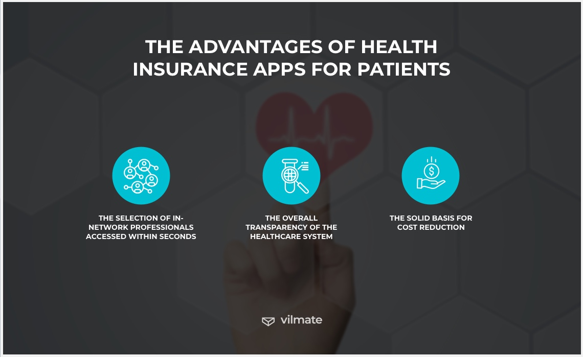 The advantages of health insurance apps for patients
