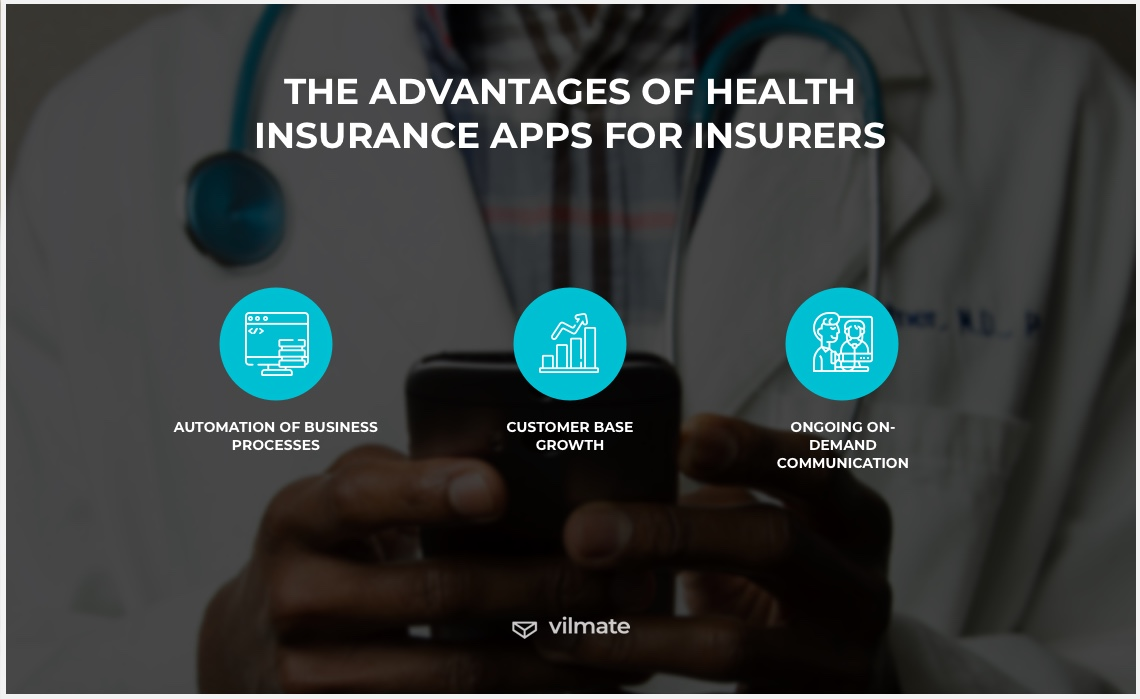 The advantages of health insurance apps for insurers