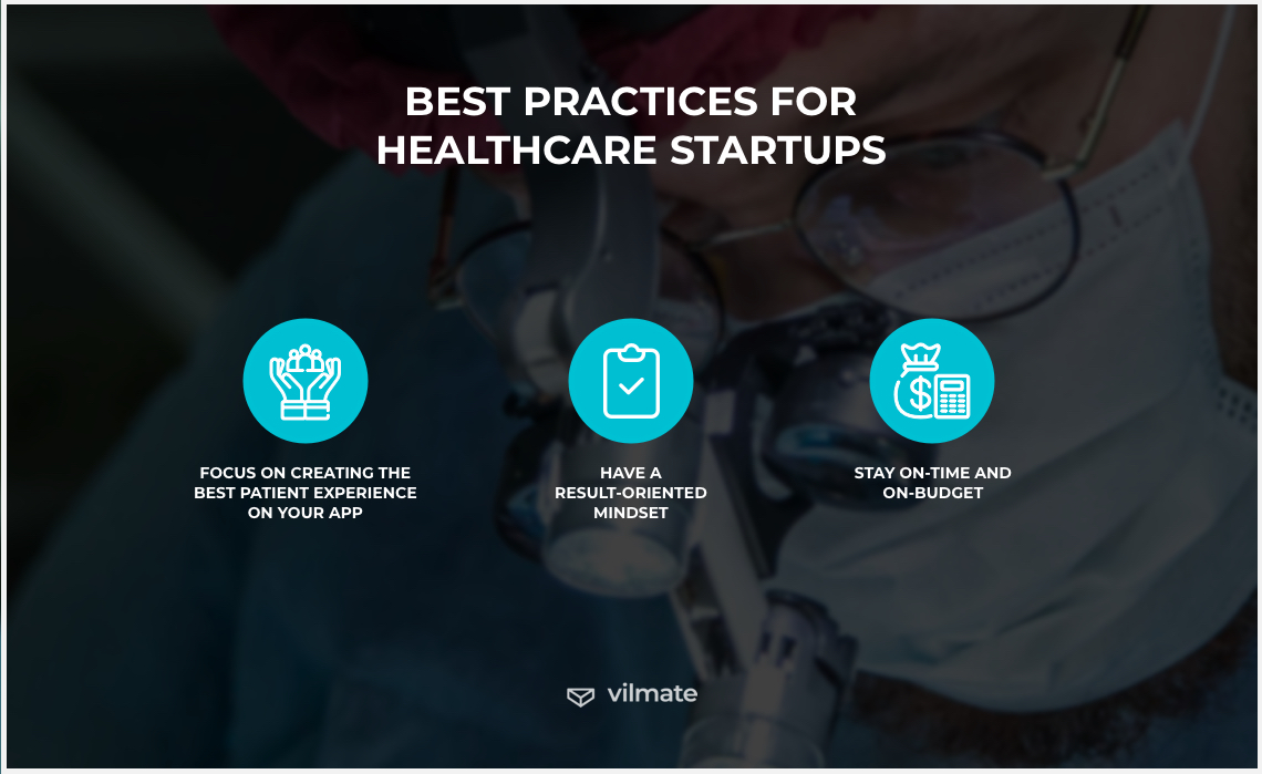 Best practices for healthcare startups
