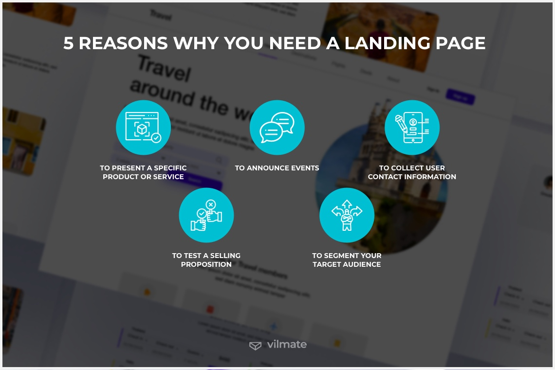 5 reasons why you need a landing page